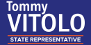Tommy Vitolo –  Democratic candidate for Massachusetts State Representative in Brookline Logo